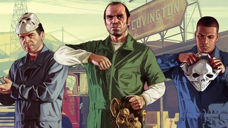 Rockstar anuncia nova versão de GTA V para PlayStation 5