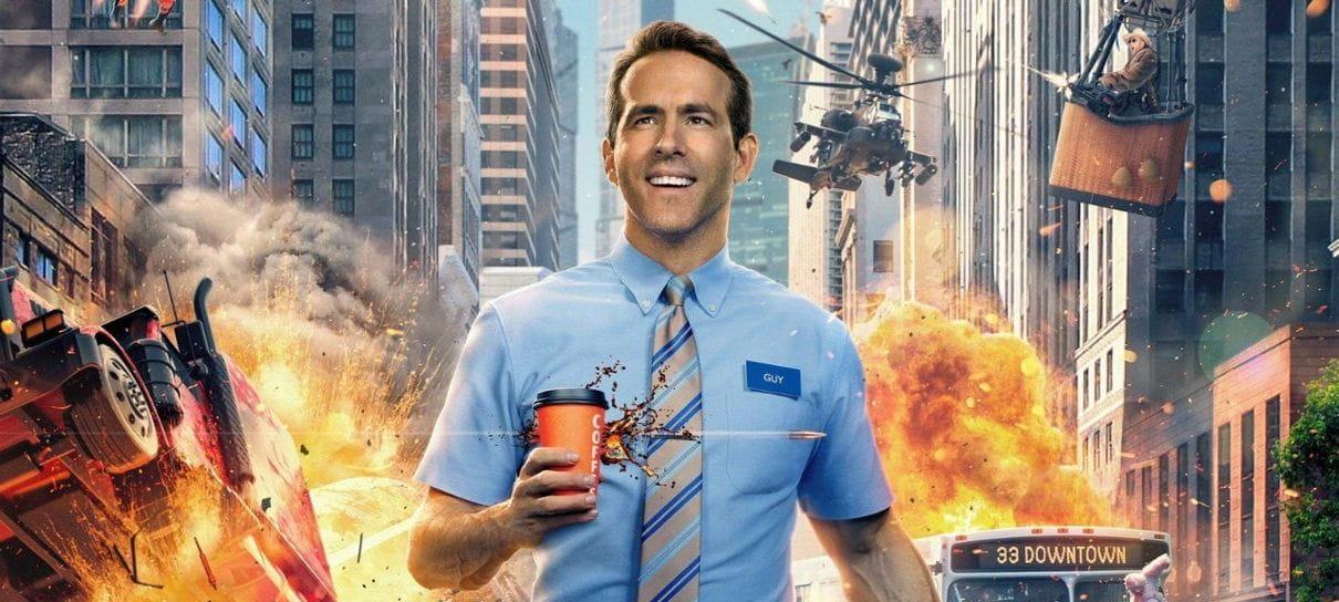 Ryan Reynolds divulga trecho de Free Guy