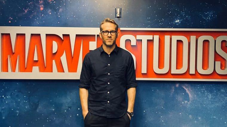 Ryan Reynolds participou de reunião com a Marvel Studios