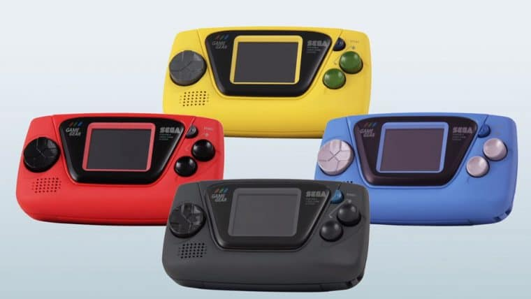 SEGA anuncia Game Gear Micro, uma homenagem ao portátil antigo