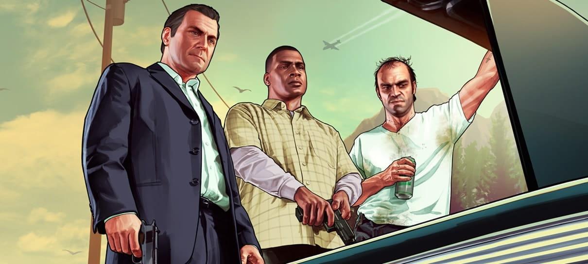Servidores de GTA V não aguentam a quantidade de jogadores online