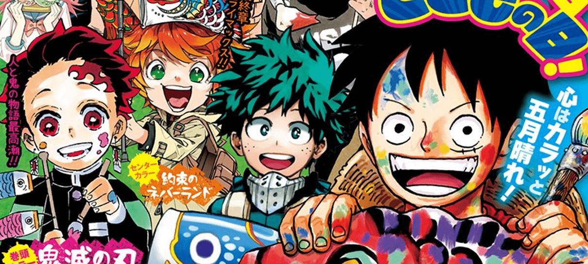 Shonen Jump comenta sobre atrasos de capítulos de mangás