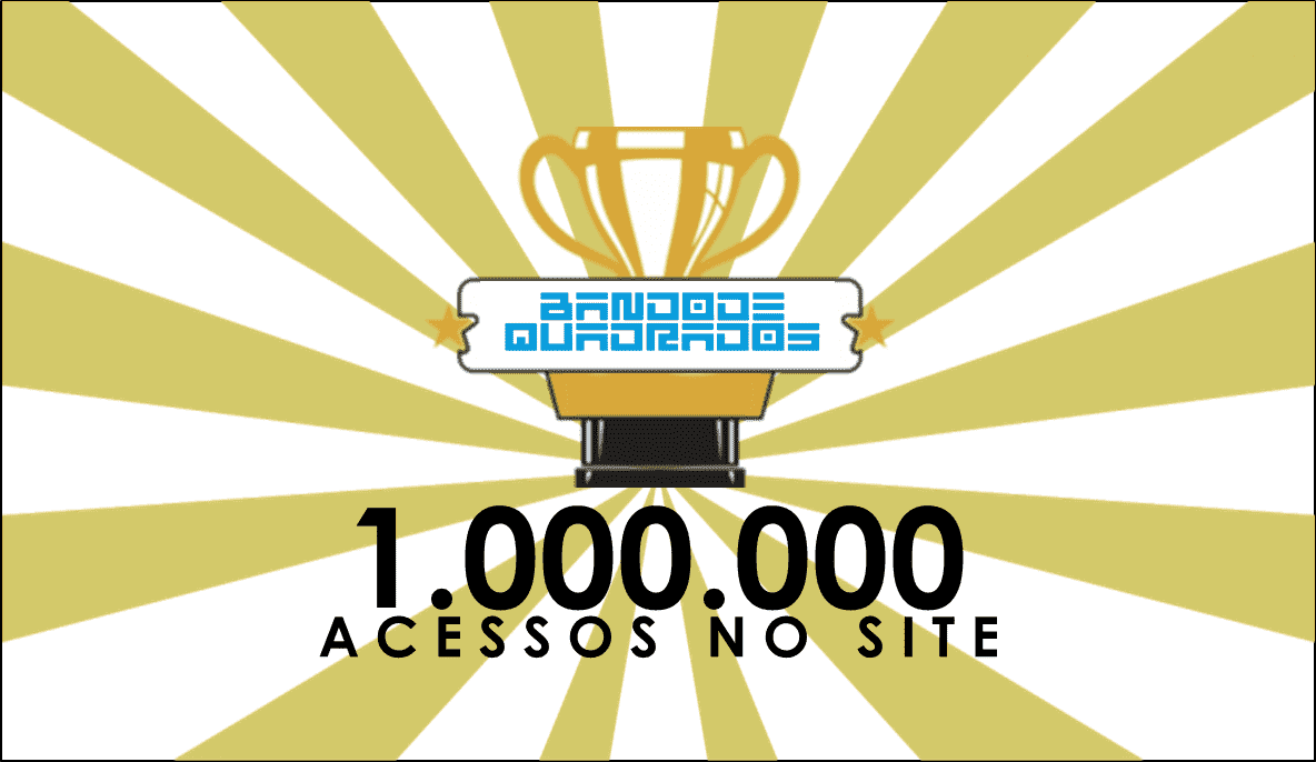 site do Bando de Quadrados alcança 1 milhão de views no site