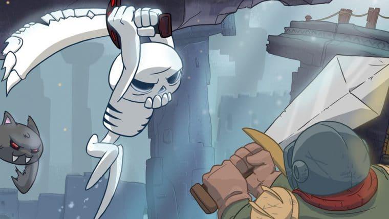 Skelattack, jogo de plataforma 2D, ganha trailer de lançamento