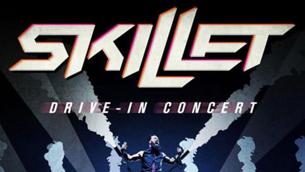 Skillet | Banda fará dois dias de evento drive-in