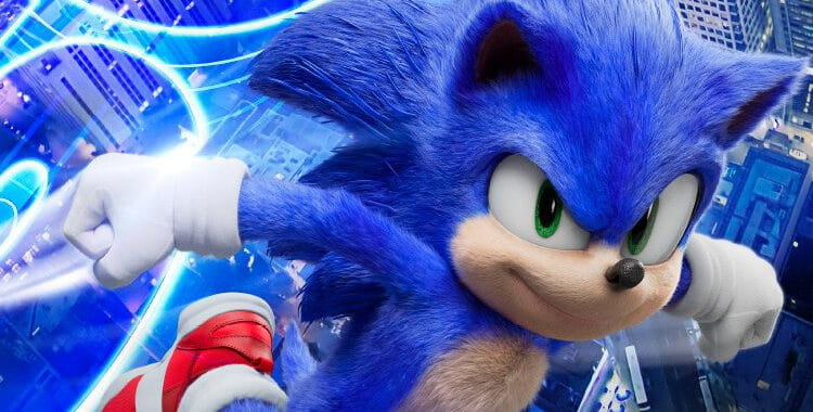 Sonic – O Filme ganha cartaz com o personagem repaginado