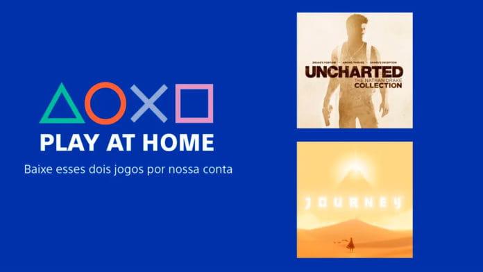 Sony disponibiliza Uncharted 3 e Journey gratuitos para Playstation 4