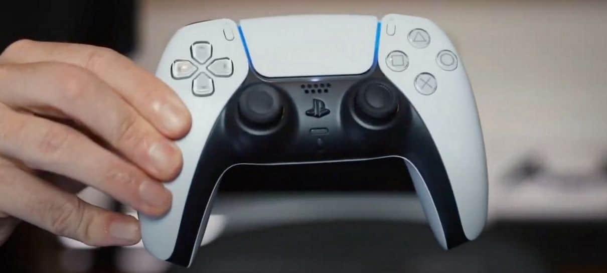Sony diz que Dualsense do PlayStation 5 terá sensores que identificam o jogador