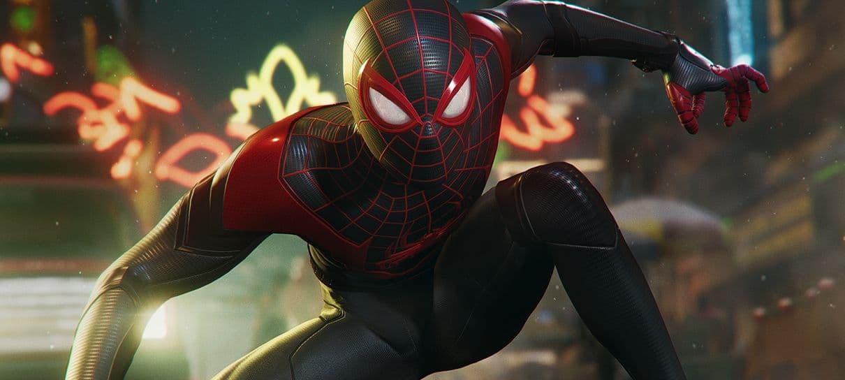 Spider-Man: Miles Morales | Game ganha nova imagem destacando o ray trace