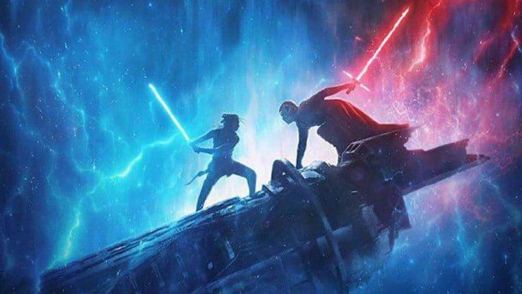 Star Wars: A Ascensão Skywalker   Novo pôster mostra Kylo Ren, Rey e Palpatine