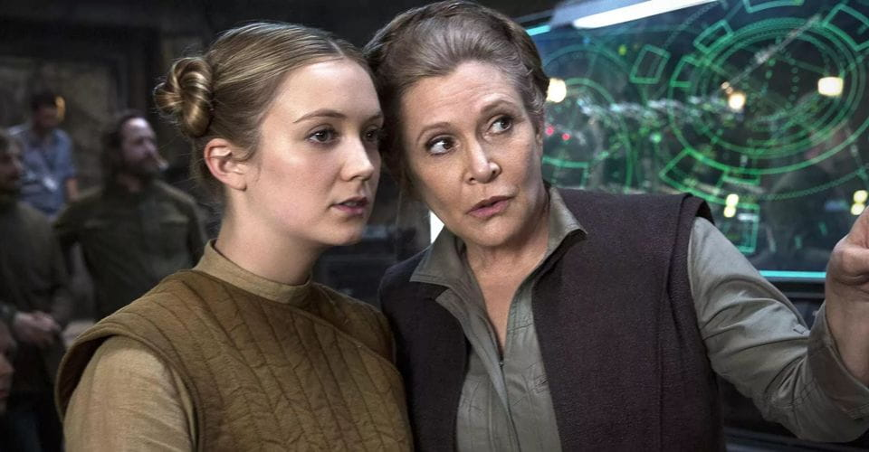 Star Wars: A Ascensão Skywalker | Leia Organa jovem foi interpretada por Billie Loud