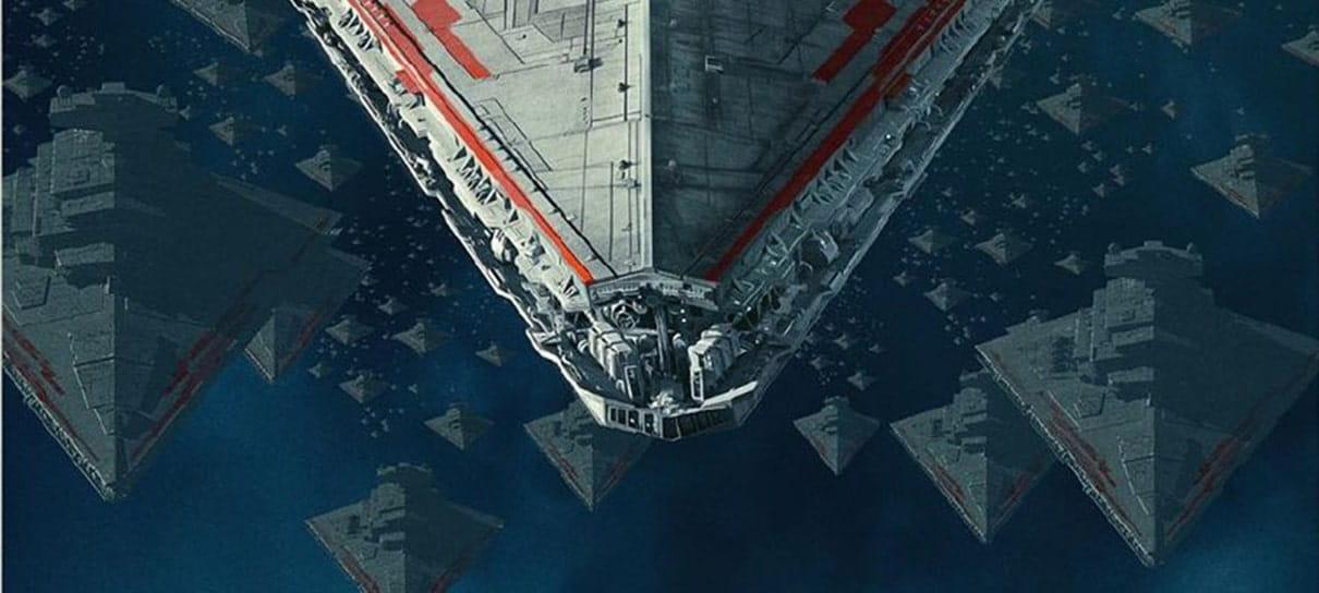 Star Wars: A Ascensão Skywalker | Pôster novo tem destaque para Naves Imperiais