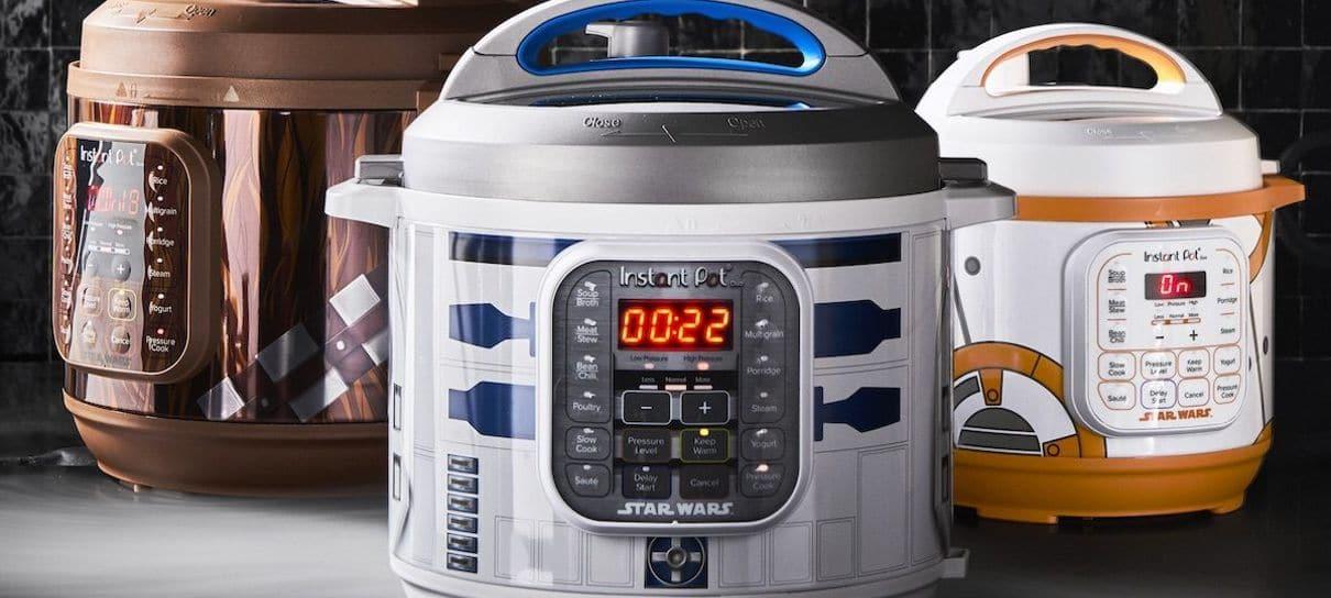 Star Wars ganha linha de panelas elétricas