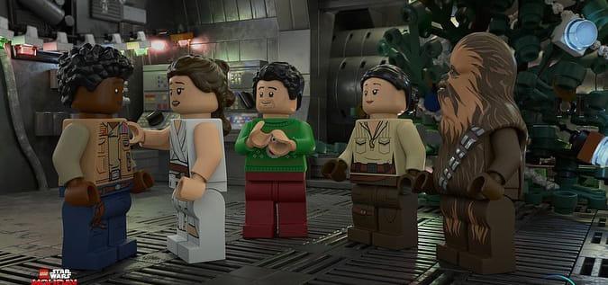 Star Wars ganhará especial de Natal em LEGO no Disney+