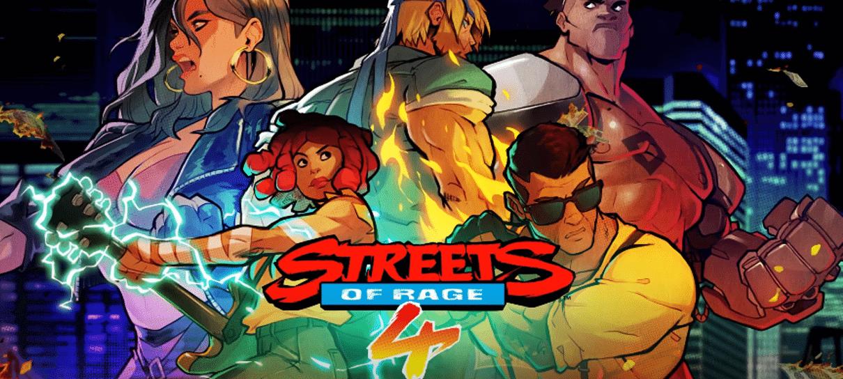 Streets of Rage 4 | Game ganha trailer de Modo de Batalha e data de lançamento