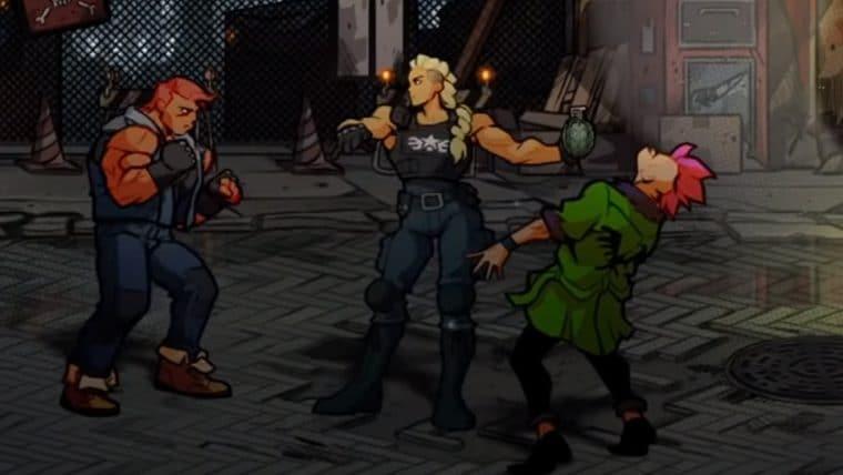 Streets of Rage 4 | Game terá três novos personagens que chegam na nova DLC