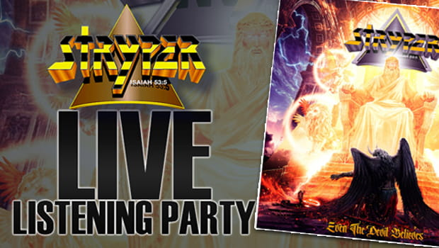 Stryper anuncia LIVE do album Even The Devil Believes