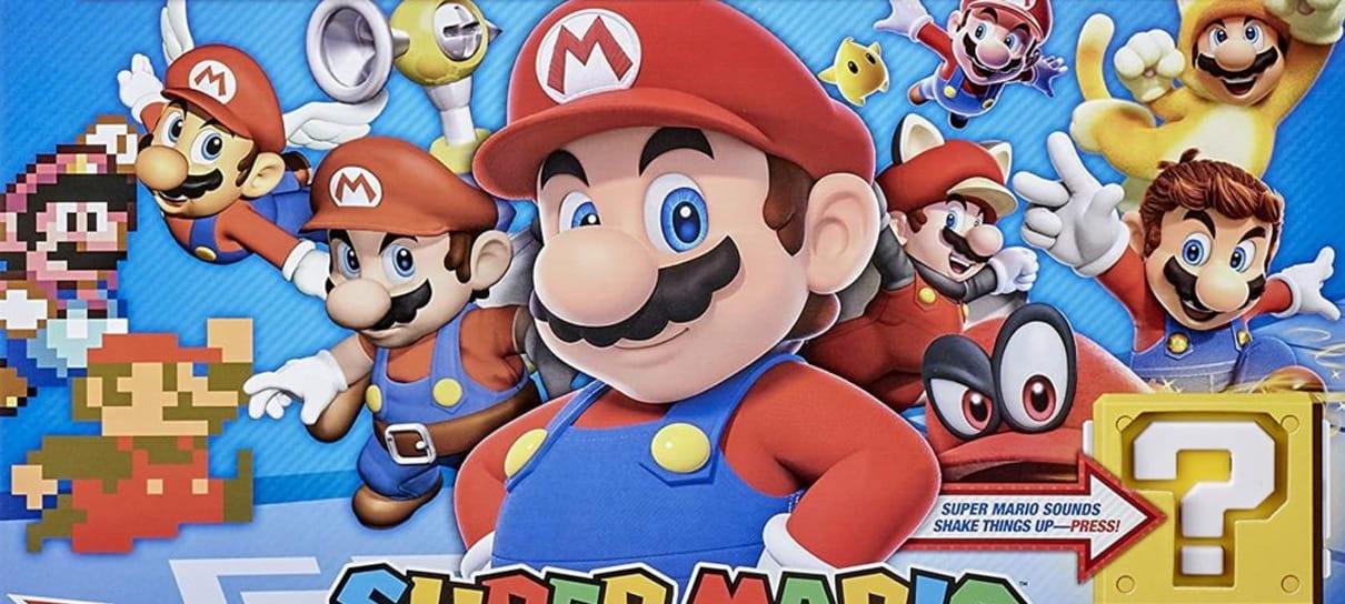 Super Mario ganha versões especiais de Monopoly e Jenga em comemoração de 35 anos