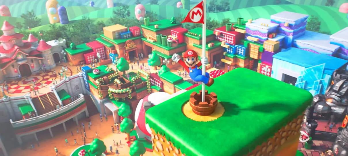 Super Nintendo World | Parque da Nintendo está praticamente finalizado