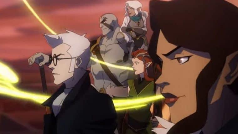 The Legend of Vox Machina, anime baseado no RPG do Critical Role ganha trailer, confira