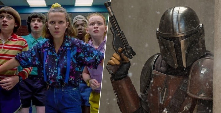The Mandalorian desbanca Stranger Things e toma o posto de série mais assistida
