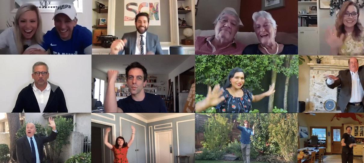 The Office | John Krasinski reúne elenco para fazer surpresa para fãs