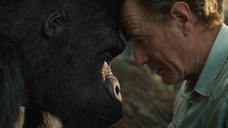 The One and Only Ivan | Filme ganha trailer com Bryan Cranston cuidando de um gorila