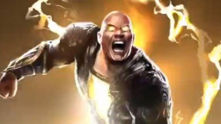 The Rock divulga teaser de Adão Negro para o painel do DC FanDome