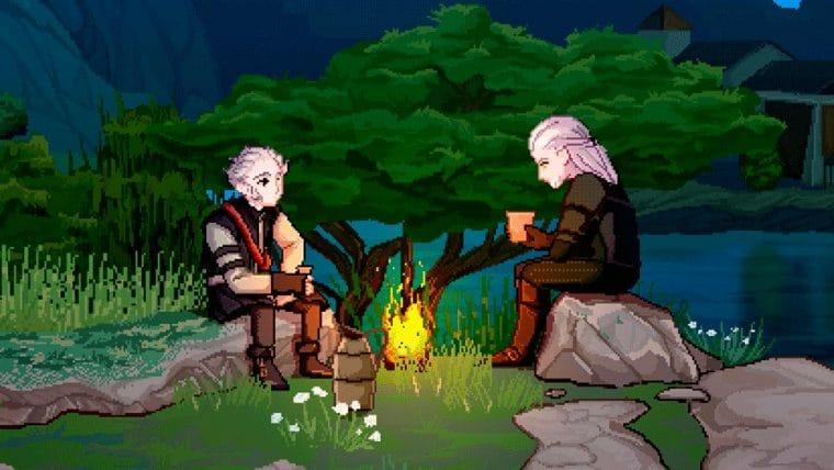 The Witcher 3 | Cena famosa do game é recriada em 16-bits