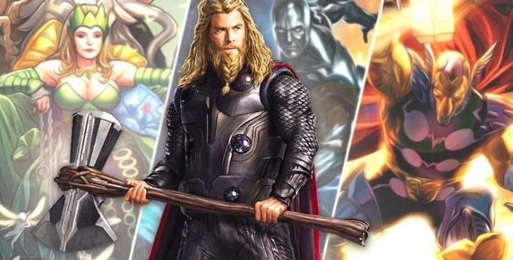 Thor: Love and Thunder | Filme deve apresentar Surfista Prateado e Beta Ray Bill