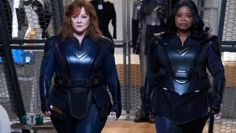 Thunder Force   Nova comédia com Melissa McCarthy e Octavia Spencer como super heroínas ganha trailer