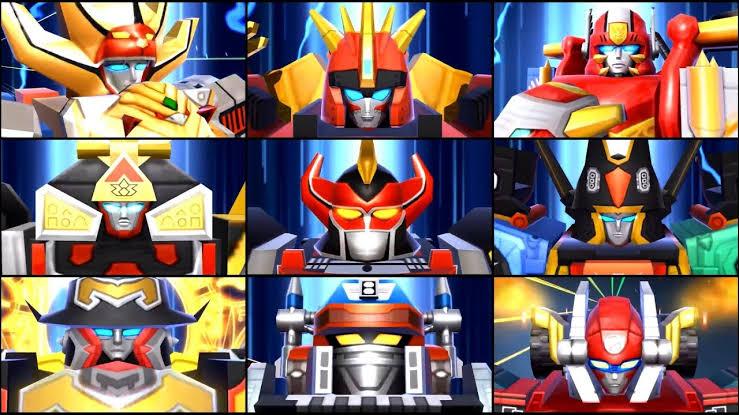 Todos os Megazords dos Power Rangers de 1990 até 1999