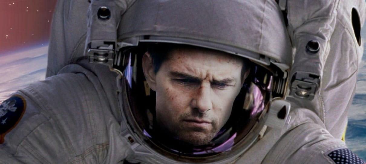 Tom Cruise gravará um filme no espaço em parceria com a NASA