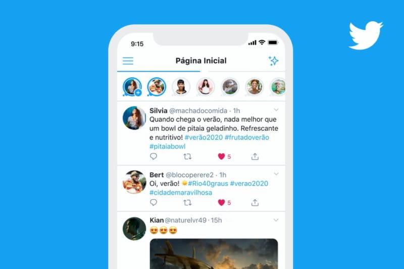 Twitter terá sua própria versão de Stories, o Fleets