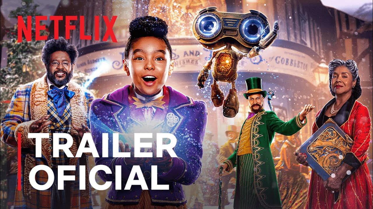 Uma Invenção de Natal | Muscial de Natal da Netflix ganha trailer