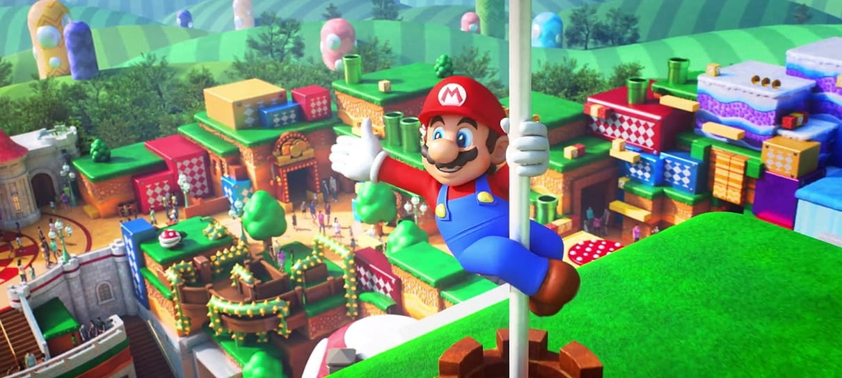 Universal Studios Japan divulga arte do parque Super Nintendo World