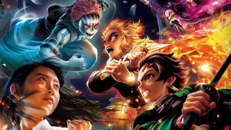 Universal Studios Japan tem montanha-russa VR de Demon Slayer por tempo limitado