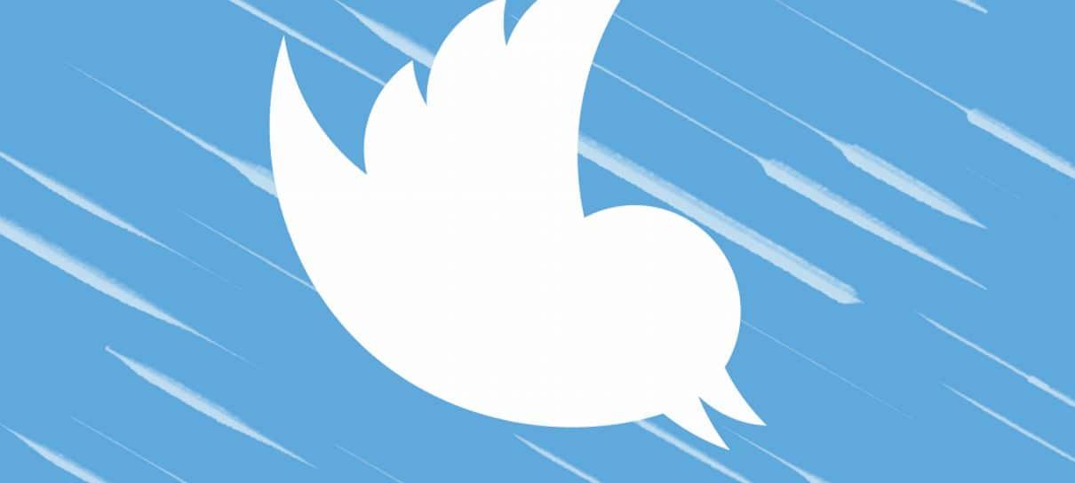 Usuários com verificação do Twitter ficaram impedidos de postar