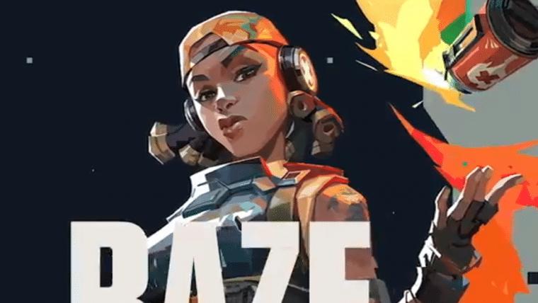 Valorant | Raze ganha vídeo mostrando habilidades