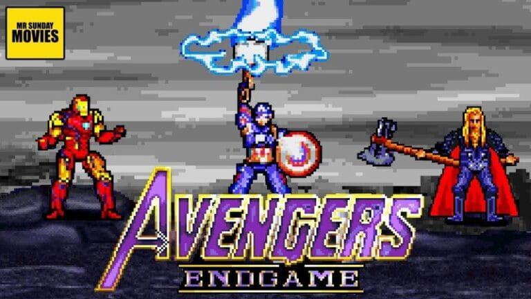 Vingadores: Ultimato | Cena da Batalha final ganha versão em 16bits