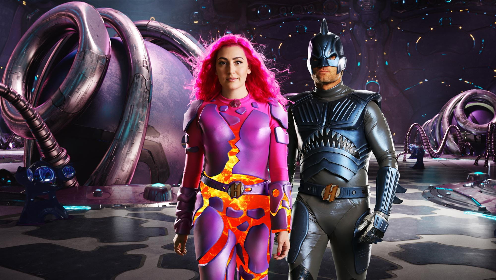 We Can Be Heroes | Netflix divulga imagens de Sharkboy e Lavagirl adultos