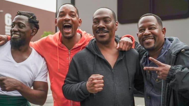 Will Smith registra encontro com elenco de Bad Boys Para Sempre e Um Príncipe em Nova York 2