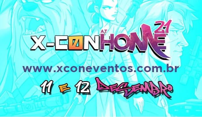 X-CON At Home 21 lança plataforma para o evento online e divulga primeiros convidados