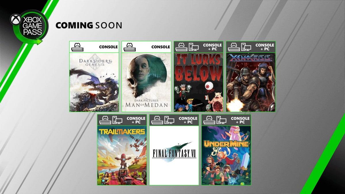 Xbox Game Pass de Agosto adiciona sete jogos ao catálogo