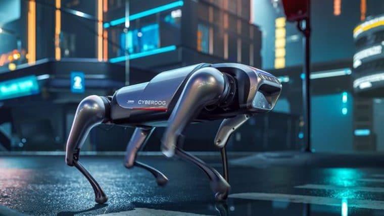 Xiaomi lança CyberDog, um cachorro robô