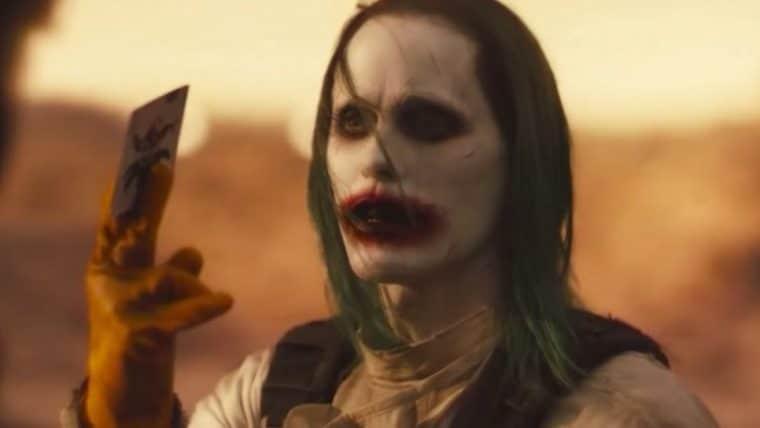 Zack Snyder divulga cena deletada com o Coringa do Snyder Cut de Liga da Justiça